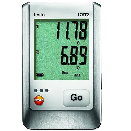 Enregistreur de données: enregistreur de température 176-T2 - TESTO