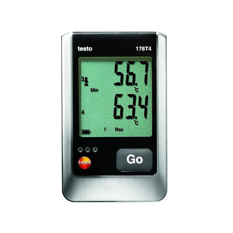 Enregistreur de données: enregistreur de température 176-T4 - TESTO