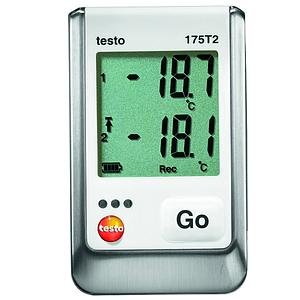 Enregistreur de données : Enregistreur de température 2 canaux 175-T2 - TESTO