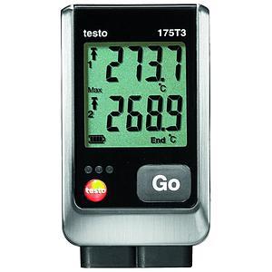 Enregistreur de données : enregistreur de température 2 canaux 175-T3 - TESTO