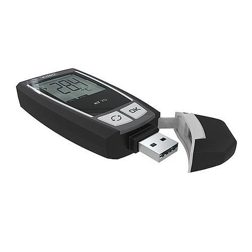 Enregistreur de données : enregistreur de température KT-70 - KIMO