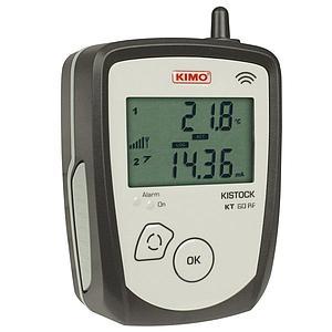Enregistreur de données : enregistreur de température radio KT-60-EO-RF - KIMO