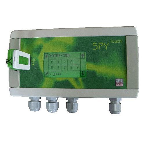Enregistreur de données : enregistreur universel  SPY TOUCH'U sans sonde (2 voies) - JULES RICHARD