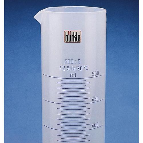 Éprouvette graduée forme haute en PP - 2000 ml - Bürkle