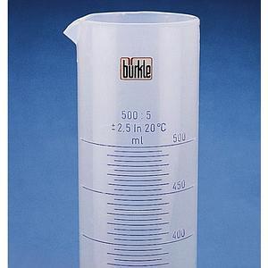 Éprouvette graduée forme haute en PP - 50 ml - Bürkle