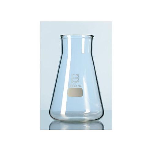 Erlenmeyer avec col large - Verre qualité supérieure - 500 ml