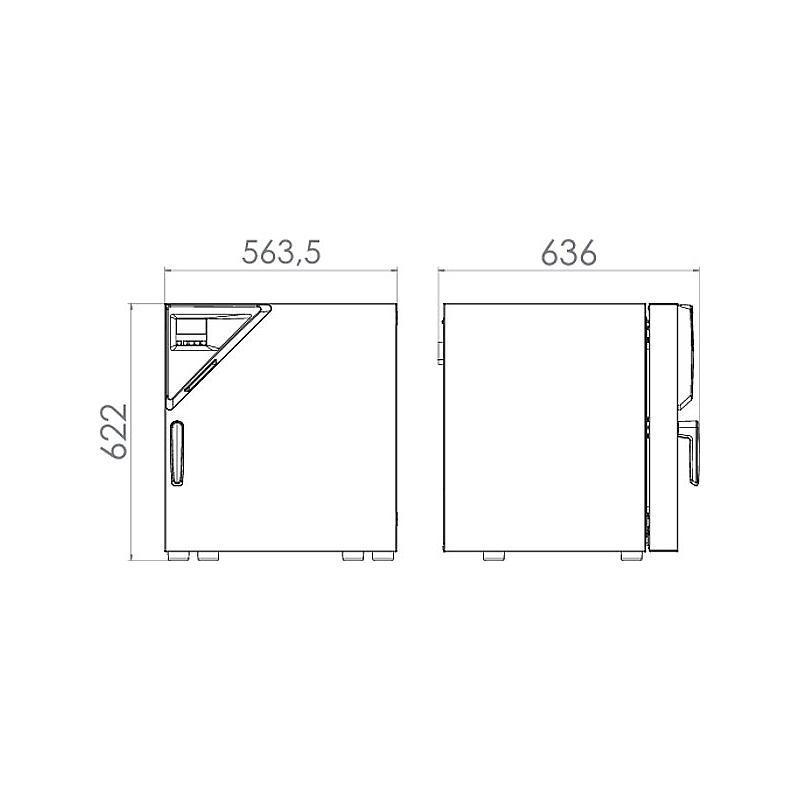 Étuve de laboratoire à convexion forcée FD 56 – Binder