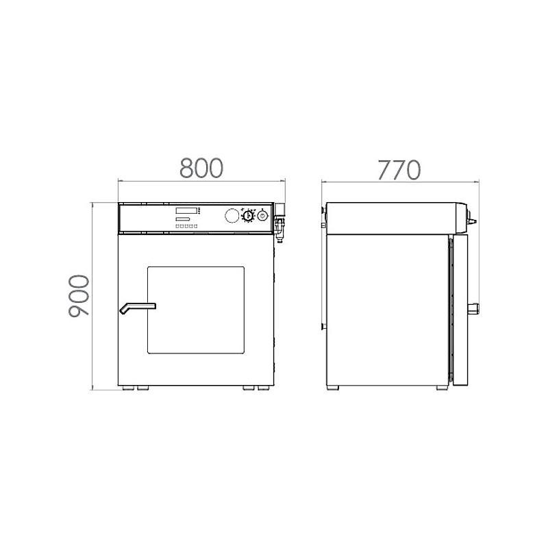 Étuve de séchage sous vide VD 115 - Binder