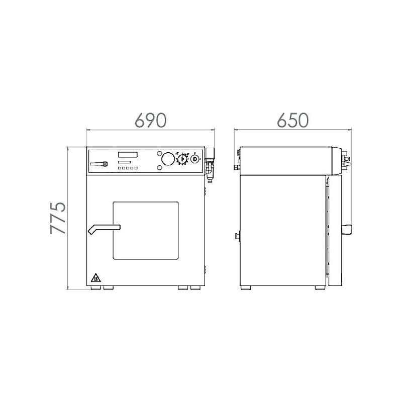 Étuve de séchage sous vide VDL 53 - Binder