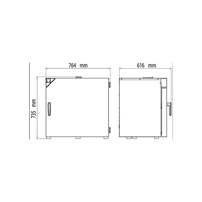 Étuve Economique à convexion forcée FD-S 115 – Binder
