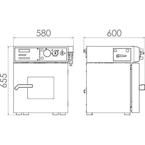 Étuves de séchage sous vide VDL 23 – Binder