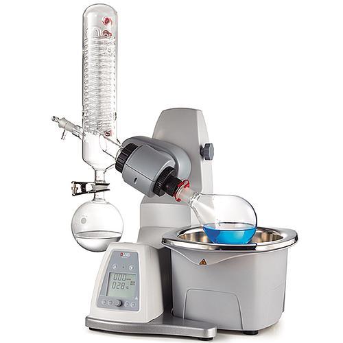 Evaporateur rotatif avec condenseur horizontal et bain-marie - DLAB