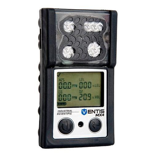 Explosimètre et détecteur multigaz portable Ventis MX4 (NO2, O2 et  H2S) - Industrial Scientific