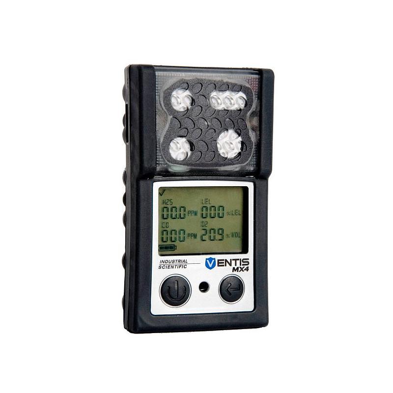 Explosimètre et détecteur multigaz portable Ventis MX4 (SO2, O2 et  H2S) - Industrial Scientific