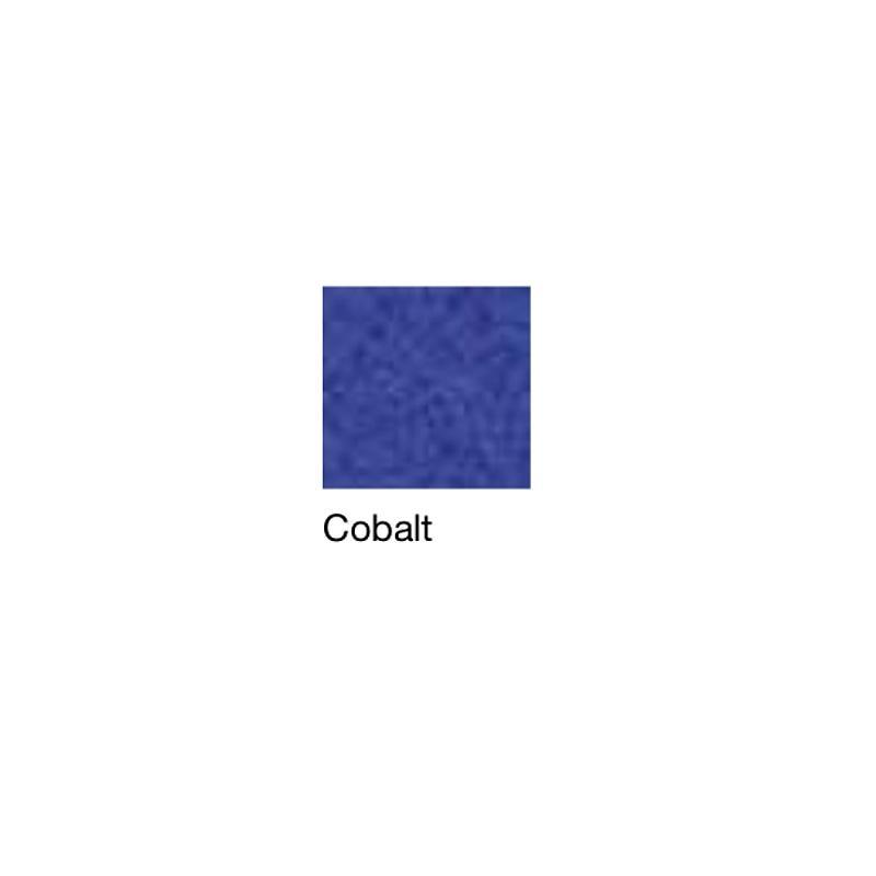 Fauteuil de repos Hypnos, patins et accoudoirs fixes, cobalt - Kango