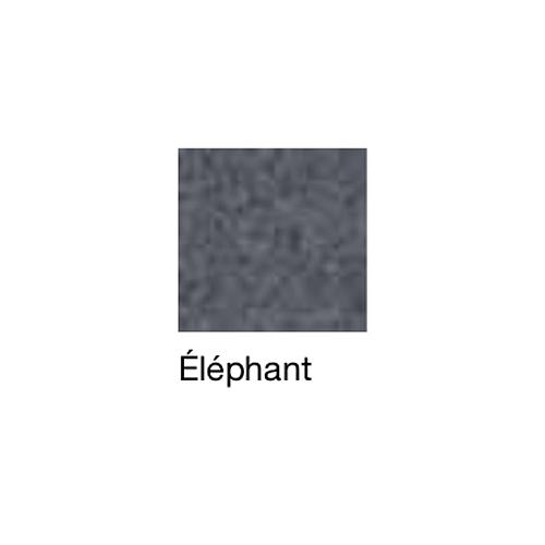 Fauteuil de repos Hypnos, patins et accoudoirs fixes, éléphant - Kango