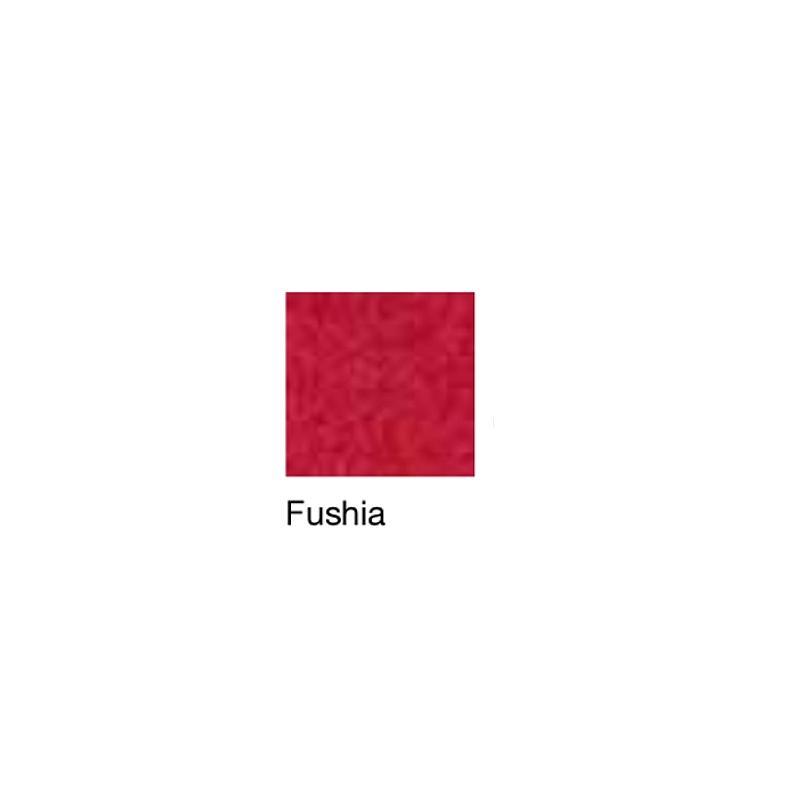 Fauteuil de repos Hypnos, patins et accoudoirs fixes, fushia - Kango