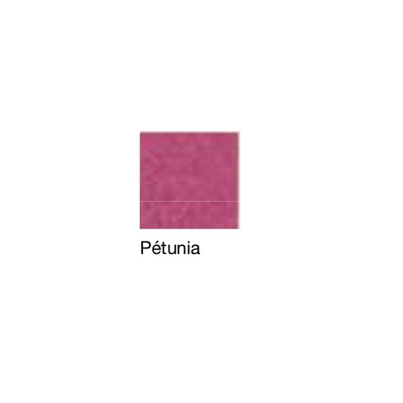 Fauteuil de repos Hypnos, patins et accoudoirs fixes, pétunia - Kango