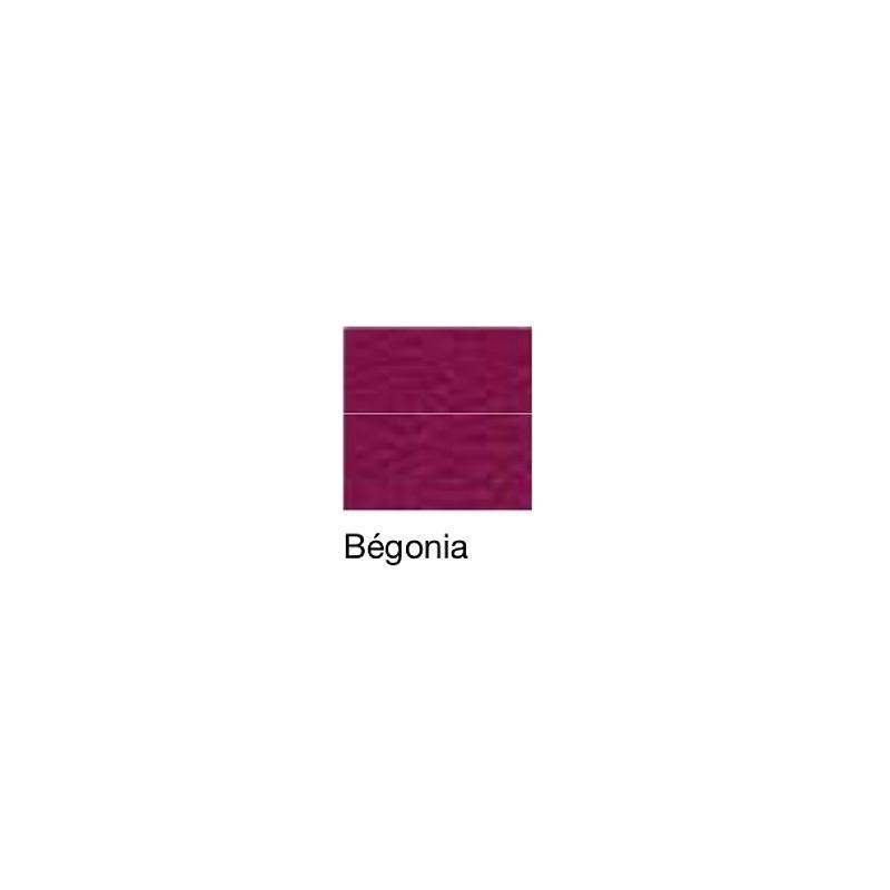 Fauteuil de repos Hypnos, patins et accoudoirs réglables, bégonia - Kango