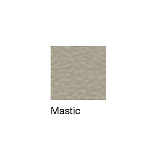 Fauteuil de repos Hypnos, patins et accoudoirs réglables, mastic - Kango