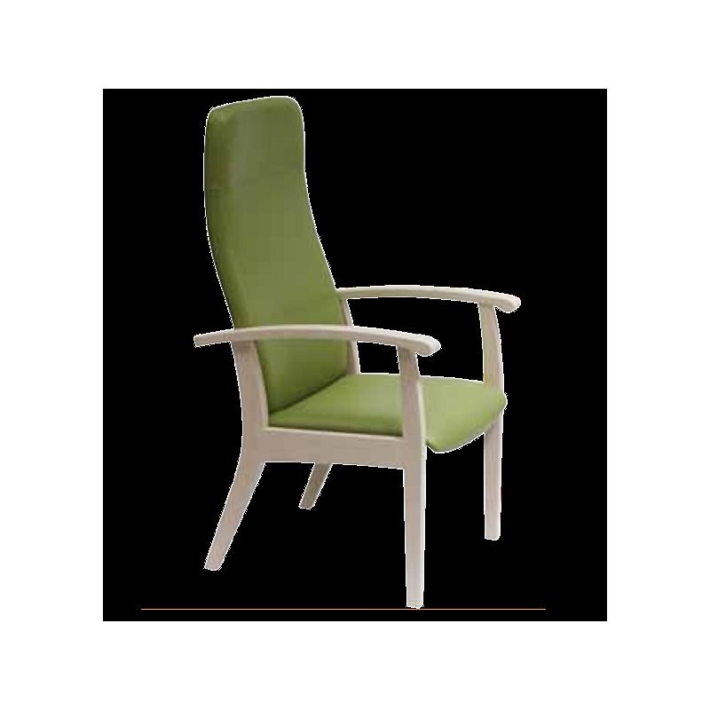 Fauteuil Relax  en bois,couleur lilas - Kango