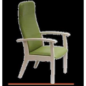 Fauteuil Relax  en bois,couleur souris - Kango