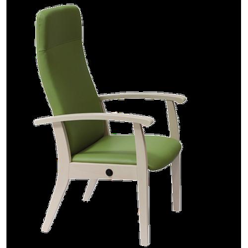 Fauteuil Relax inclinable en bois,couleur souris - Kango
