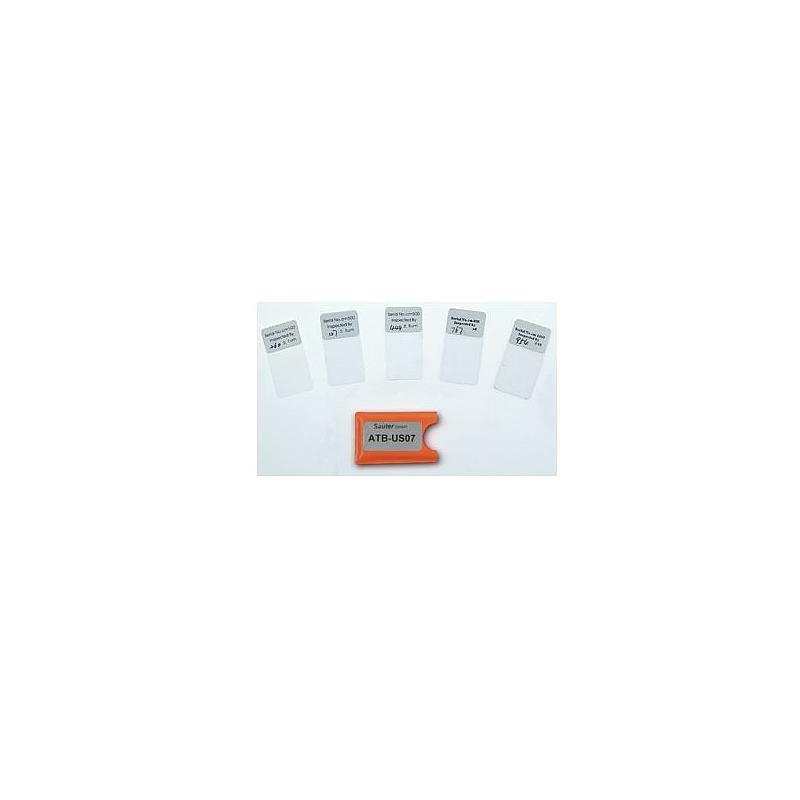 Feuilles d'étalonnage - 20-2000 µm - Sauter
