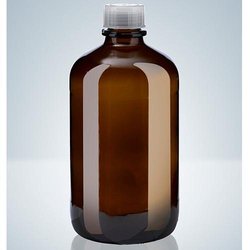 Flacon en verre ambré - 2500 ml - Filetage A45 - Hirschmann