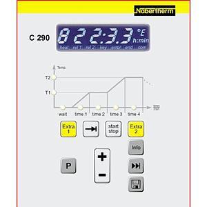 Four Nabertherm : four à chambre Nabertherm LF30/14 Programmateur P-300