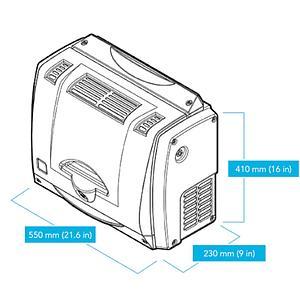 Générateur d'Air Zéro GC Plus 6000 - 6 l/min - VICI DBS