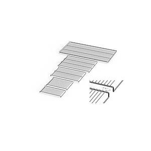 Grille acier inoxydable électropolie - Pour modèles 1060 - Memmert