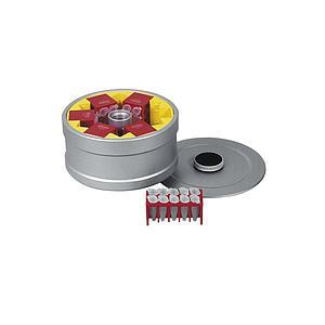 HET-1161 - Rotor à tambour 6 places + couvercle