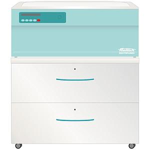 HET-4615A - Meuble à roulettes pour centrifugeuses - 2 tiroirs