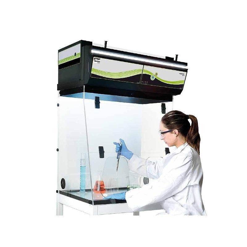 Hotte chimique à filtration (ETRAF) CAPTAIR 391 Smart Nue - Erlab