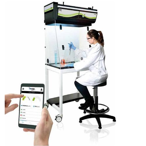 Hotte chimique à filtration (ETRAF) CAPTAIR 481 Smart Nue - Erlab