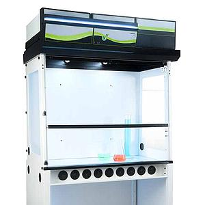Hotte chimique à filtration (ETRAF) CAPTAIR 483 Smart Nue - Erlab