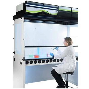 Hotte chimique à filtration (ETRAF) CAPTAIR 714 Smart Nue - Erlab
