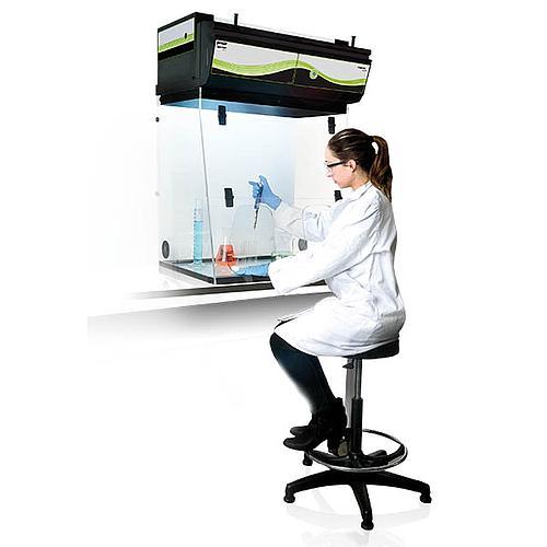 Hotte chimique à filtration (ETRAF) CAPTAIR Midcap M 321 Nue - Erlab
