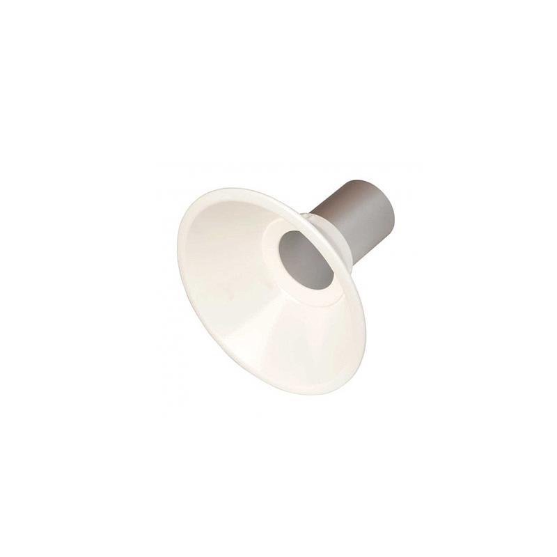 Hotte métal Ø 250mm avec éclairage LED - Fumex