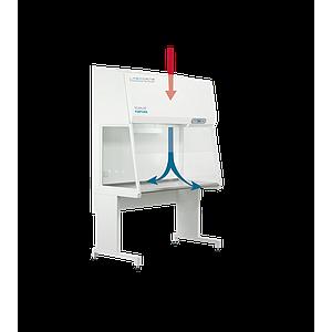 Hotte stérile à flux laminaire vertical Fortuna Clean Bench l 1200mm – Labogene