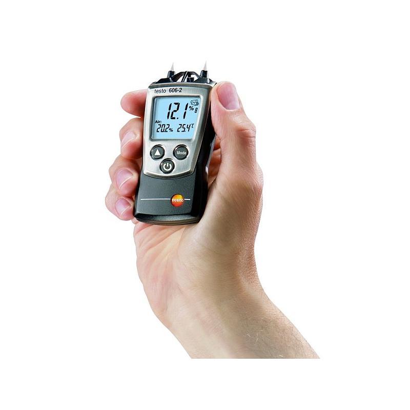 Hygromètre 606-2 : mesure de l'humidité du bois, des matériaux et de l'air