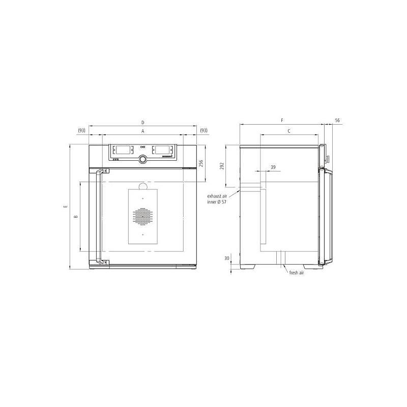 Incubateur bactériologique IN110plus - Memmert
