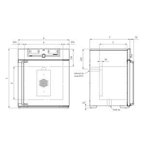 Incubateur bactériologique ventilé IN160plus - Memmert