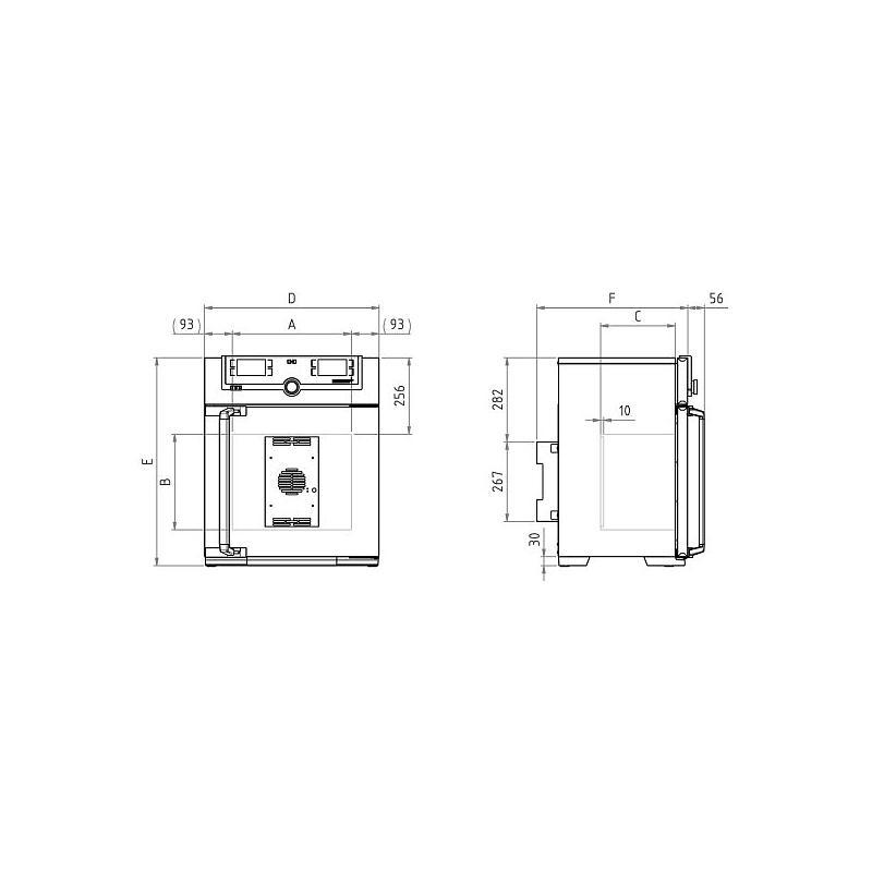 Incubateur réfrigéré à effet Peltier IPP 30 - Memmert