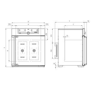 Incubateur réfrigéré à effet Peltier - IPP110 - Memmert