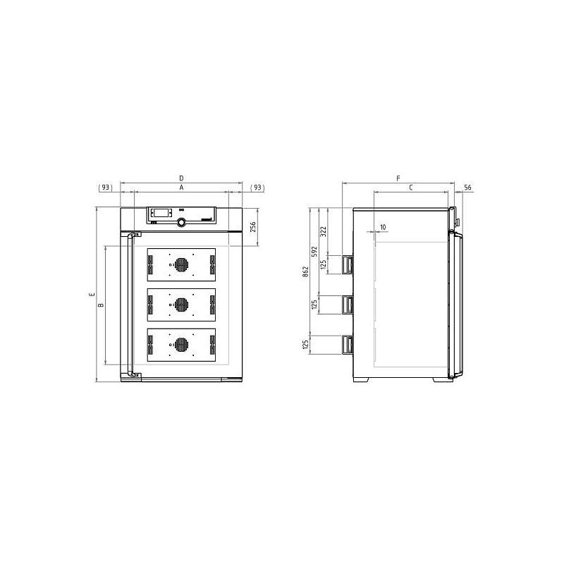 Incubateur réfrigéré à effet Peltier - IPP260PLUS - Memmert