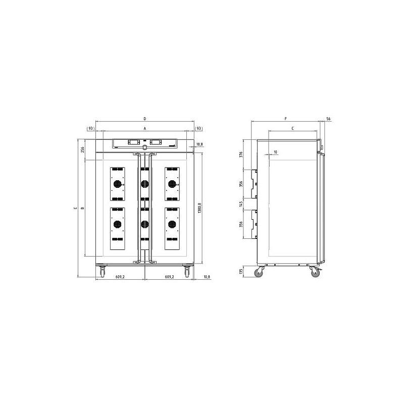 Incubateur réfrigéré à effet Peltier - IPP750 - Memmert