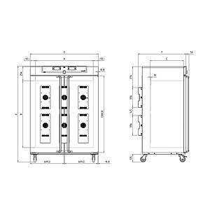 Incubateur réfrigéré à effet Peltier - IPP750PLUS - Memmert