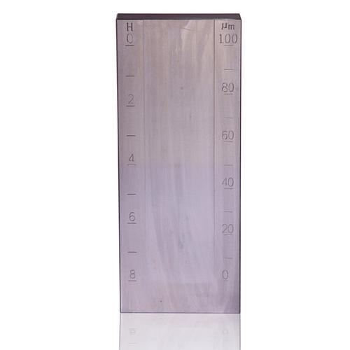 Jauge de finesse de broyage - Grindomètre - Grande rainure - 0-100 µm